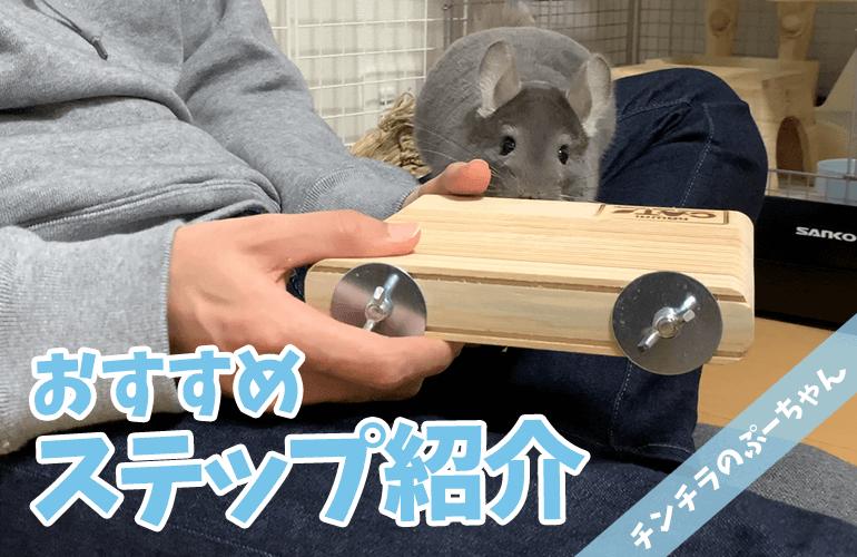 【チンチラ】おすすめステップ紹介!厚みがあってしっかり固定できるので騒音対策もOK!