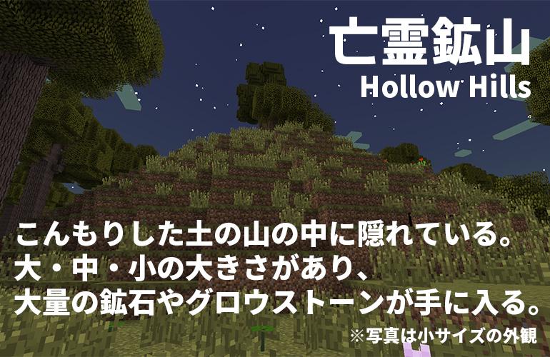 亡霊鉱山-Hollow Hills-