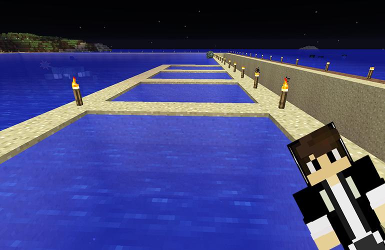 海底神殿の水抜き1日目
