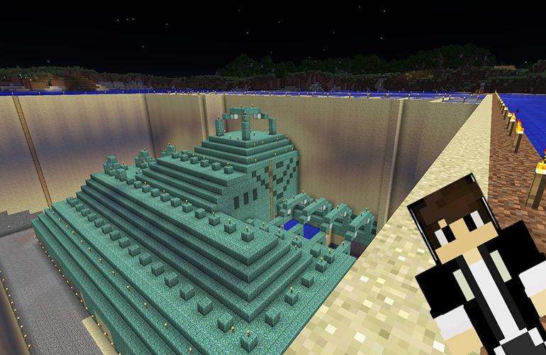 海底神殿の水抜き3日目終了