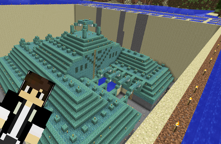 海底神殿の水抜き4日目終了