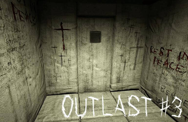 #3【ちーのホラーゲーム実況】恐怖の精神病院から脱出せよ!OUTLAST(アウトラスト)